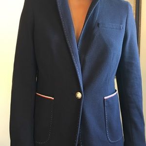 Tommy jacket with pipping NWT